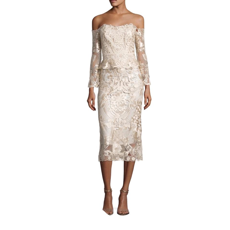 Kobi Halperin Champagne Adora Dress