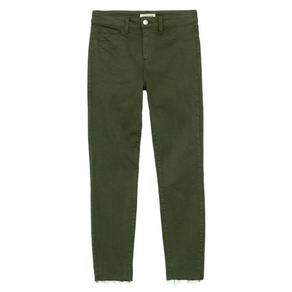 L'AGENCE Army Green Margot Jeans