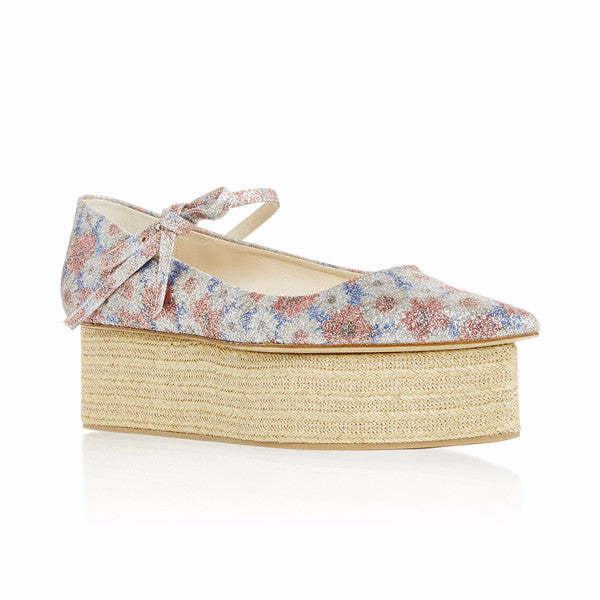 Glitter Multi Wedge Platforms by Delpozo