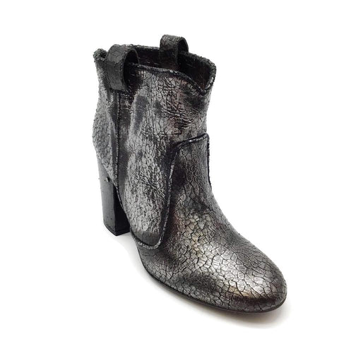 Laurence Dacade Silver/Black Pete Booties
