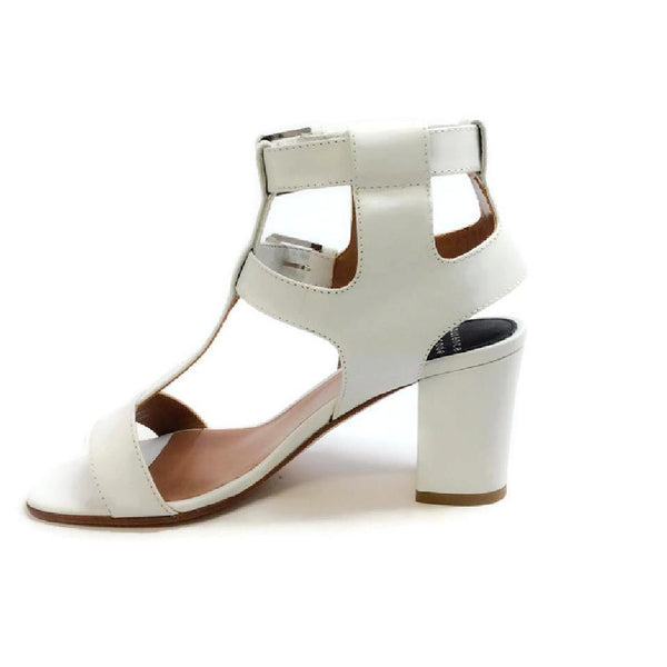 Diane White Sandals by Laurence Dacade side