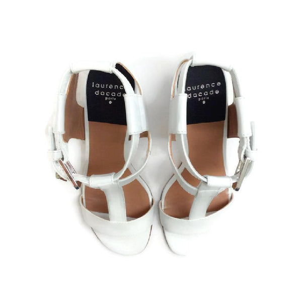 Diane White Sandals by Laurence Dacade top