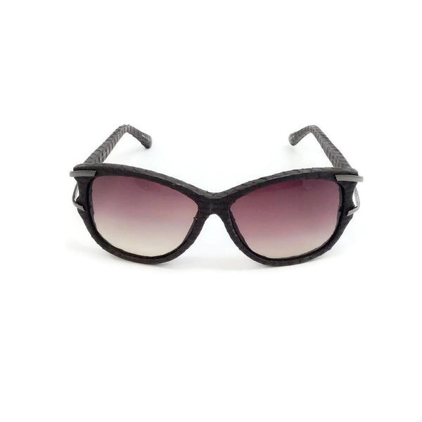 Linda Farrow Brown Square Lens Sunglasses, front