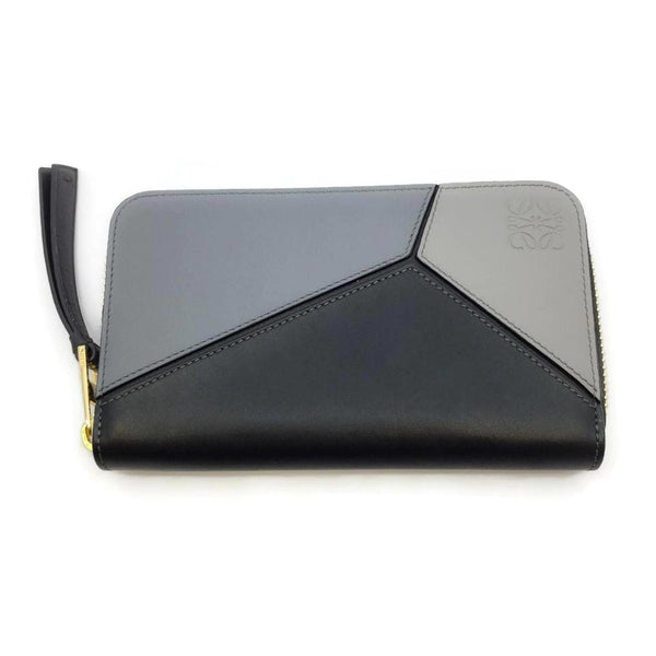 Loewe Grey / Black / Cream Puzzle Wallet