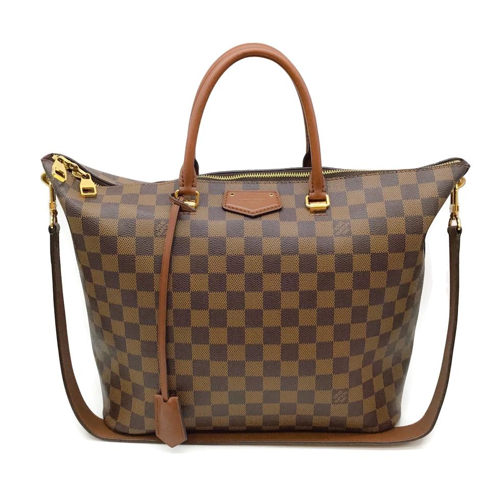Louis Vuitton Belmont Brown Damier Ébène Canvas Satchel
