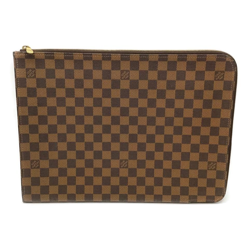 Louis Vuitton Brown Damier Ebene Portfolio