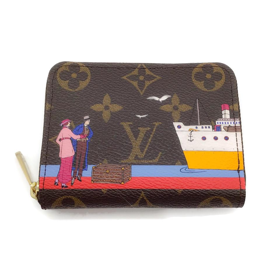 Louis Vuitton Monogram Transatlantic 2016 Zippy Wallet