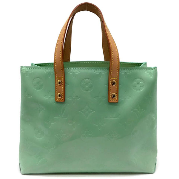 Louis Vuitton Reade Pm Mint Patent Leather Tote