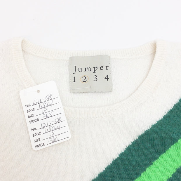 Jumper 1234 Shooting Star Cashmere Ivory Sweater