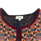 Talitha Black Multi Athena Ashanti Print Casual Dress
