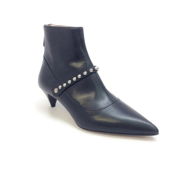 Studded Ankle Booties by Miu Miu