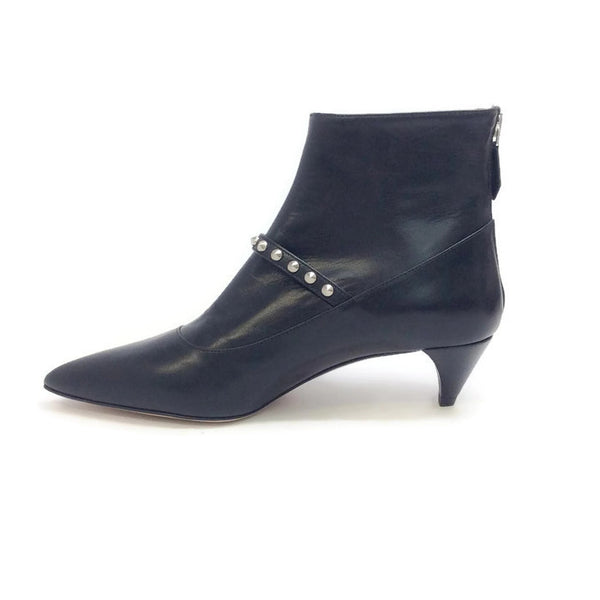 Studded Ankle Booties by Miu Miu inside