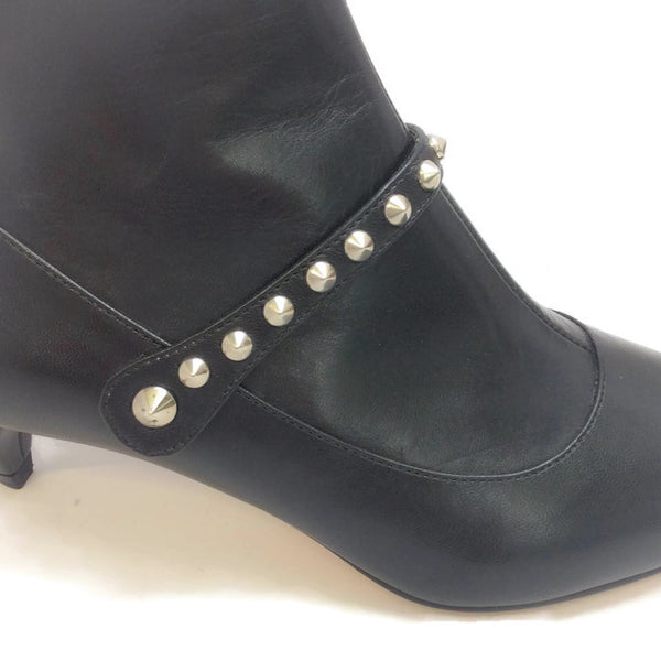 Studded Ankle Booties by Miu Miu studs
