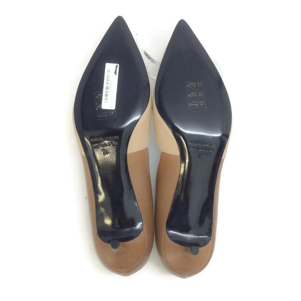 Two-toned Kitten Heel Beige / Camel by Pierre Hardy 41