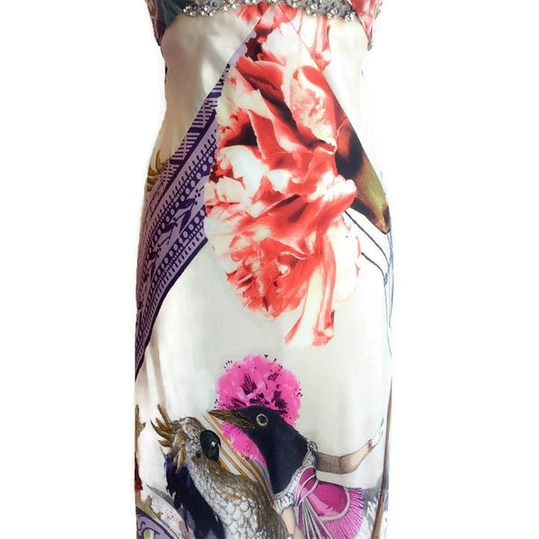 Embellished Long Gown by Christian Lacroix front