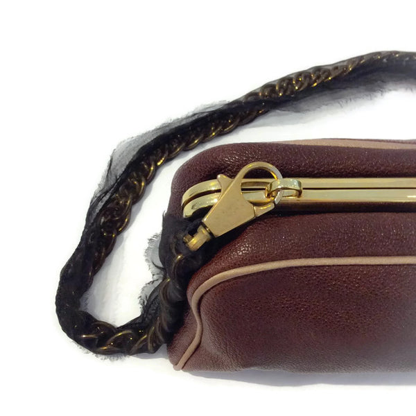 Mini Bag with Chain Strap by Lanvin detail