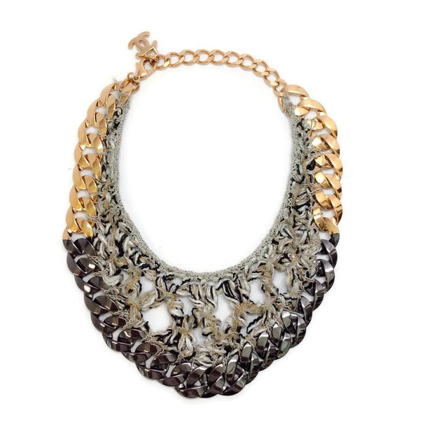 2011 Woven Chain Bib by Chanel back