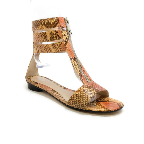 Python Gladiator Sandals by Fendi