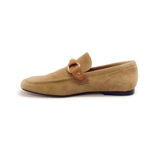 Farlow Suede Camel Loafers by Isabel Marant inside
