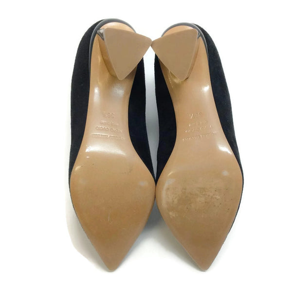 Stretch With Gold Heel Booties by Nicholas Kirkwood 36.5