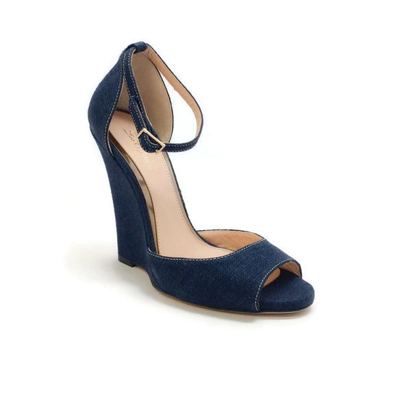 Denim Wedges by Les Copains