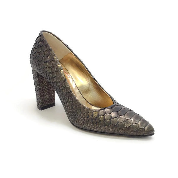Python Pumps Bronze by Walter Steiger
