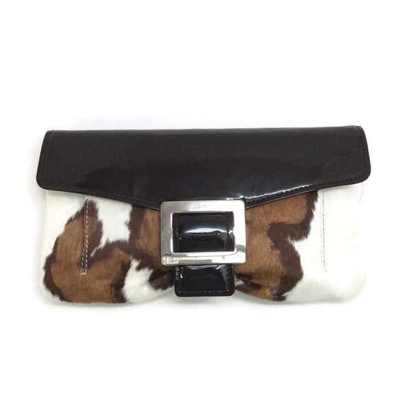 Patent and Hair Clutch by Roger Vivier