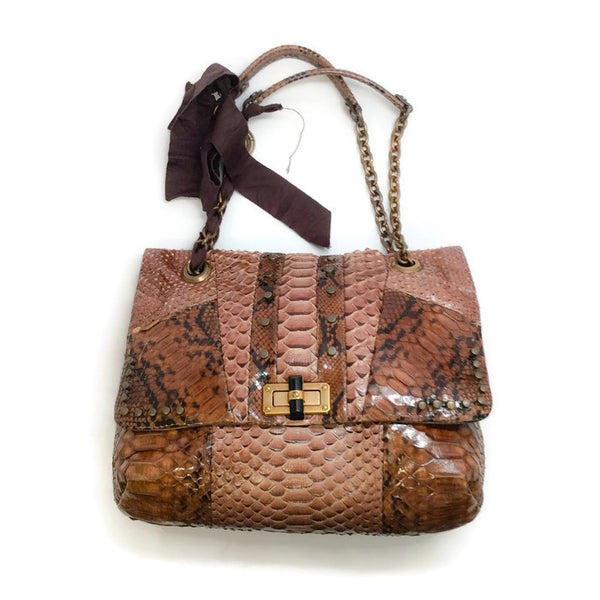 Python Happy Shoulder Bag by Lanvin