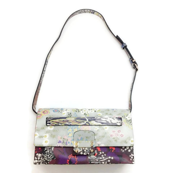 Printed Calfskin Belt Bag by Valentino with belt