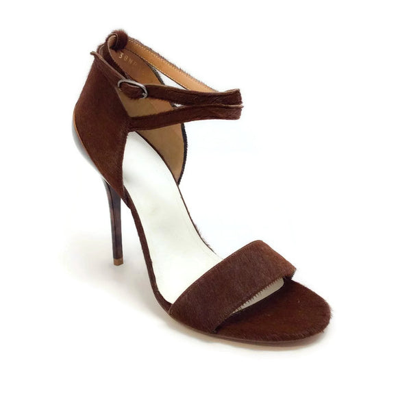 Pony And Tortoise Brown Sandals by Maison Margiela