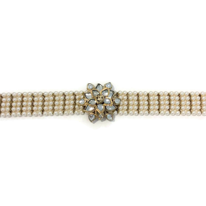 Pearl and Gripoix Belt by Chanel alternate