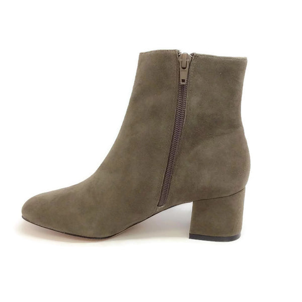 Candid Suede Dark Grey Boots by Bettye Muller inside