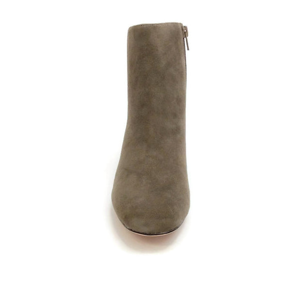 Candid Suede Dark Grey Boots by Bettye Muller front