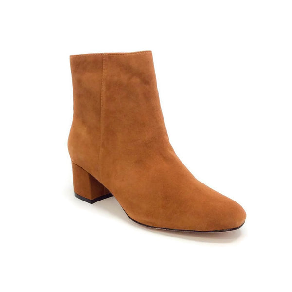 Candid Suede Whiskey Booties by Bettye Muller