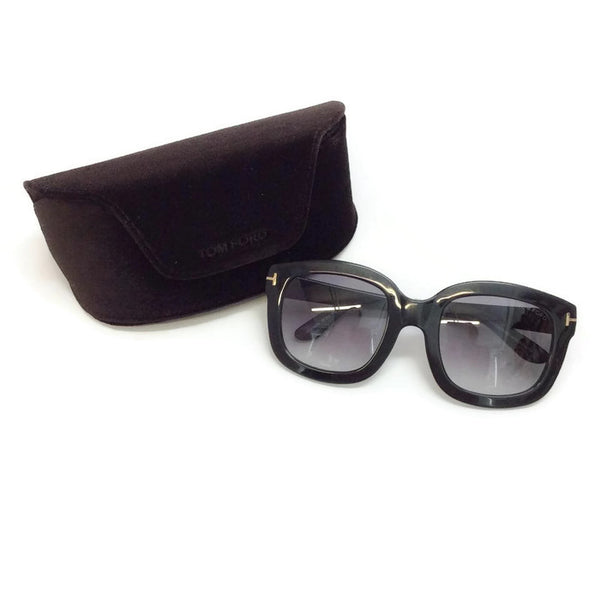 Christophe TF279 Black Sunglasses by Tom Ford
