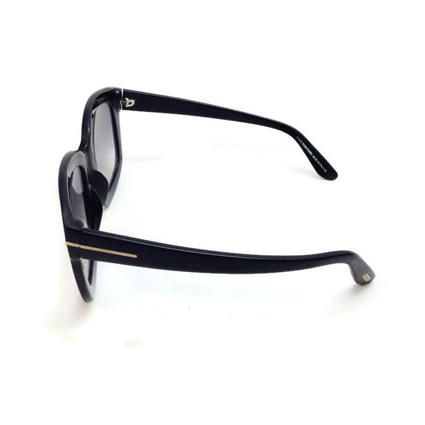 Christophe TF279 Black Sunglasses by Tom Ford side