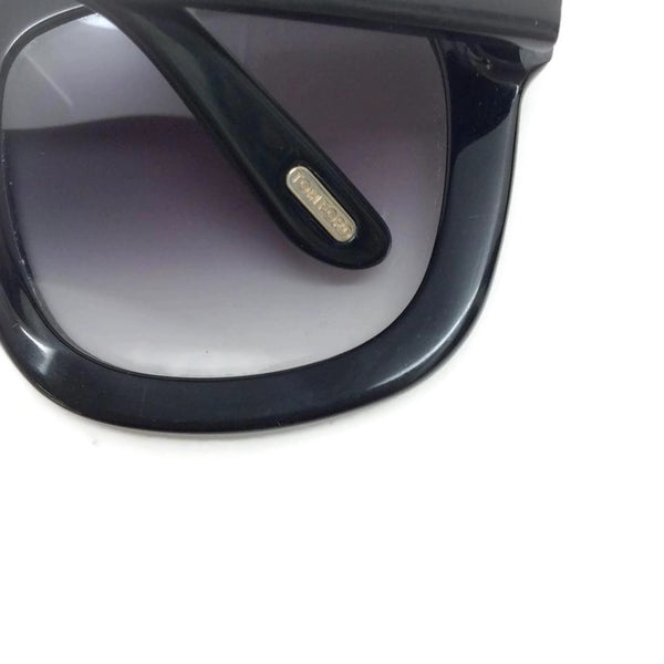 Christophe TF279 Black Sunglasses by Tom Ford logo