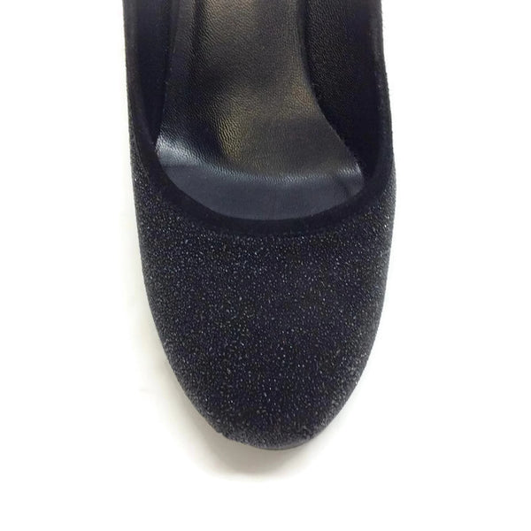 Tribtoo Black Caviar Platform Pumps by Yves Saint Laurent