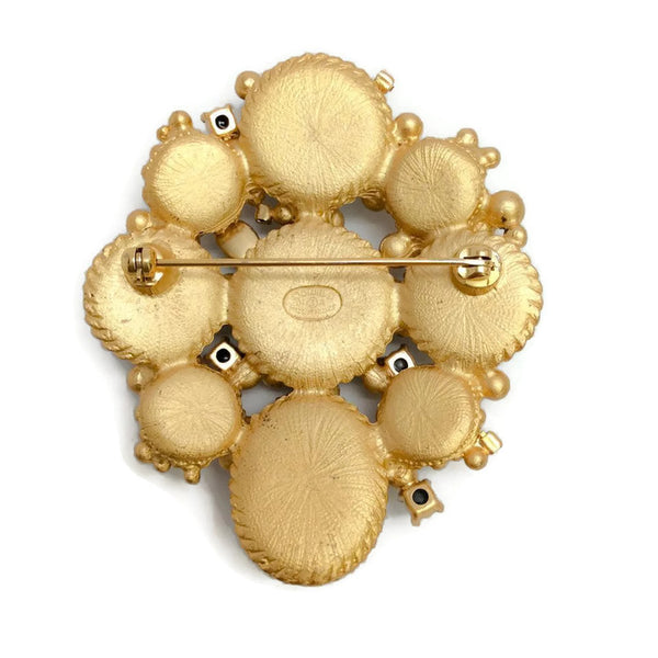 Autumn 2001 Pastel Jeweled Brooch by Chanel back