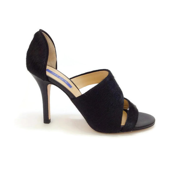 Margarite Black Pumps by Dee Keller outside