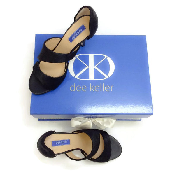Margarite Black Pumps by Dee Keller with box