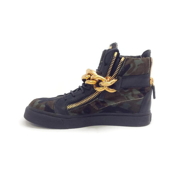 London Pony Hi Top Sneakers by Guiseppe Zanotti inside