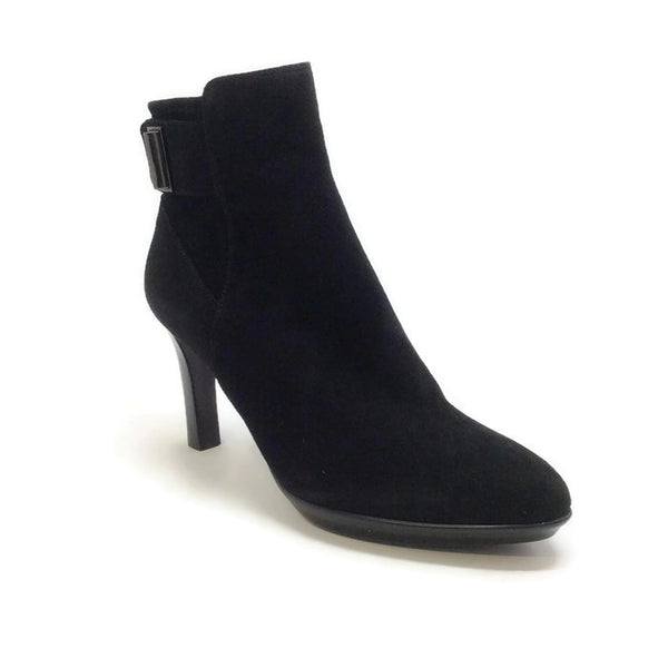 Rochelle Black Booties by Aquatalia