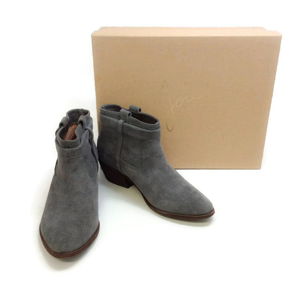 Ajax Slate Booties by Joie with box