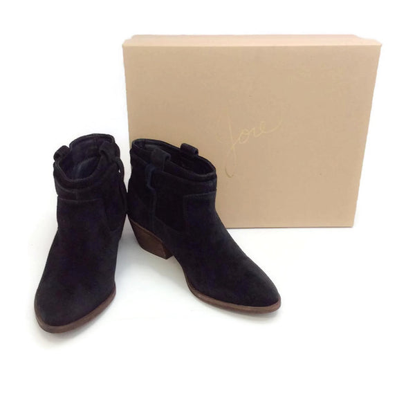 Ajax Black Booties by Joie with box