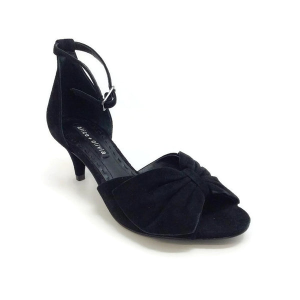 Skylar Black Pumps by alice + olivia