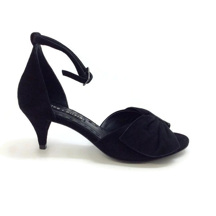 Skylar Black Pumps by alice + olivia exterior