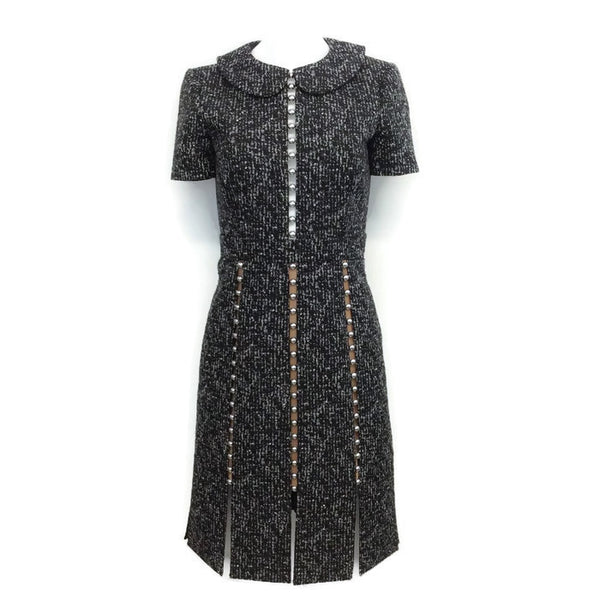Embellished Tweed Dress by Michael Kors Collection