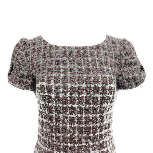 Tweed Dress by Fendi front top