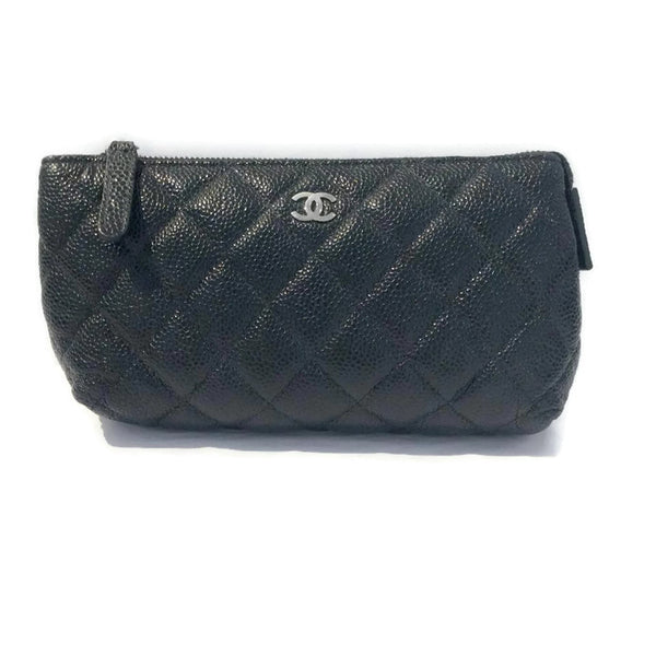 Quilted Cosmetic Bag by Chanel